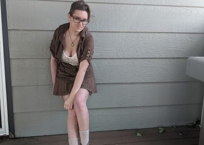 Trailblazing Alissa Ackerman Story Behind The Cloth fashion blog vintage antique adventurous outfit 17