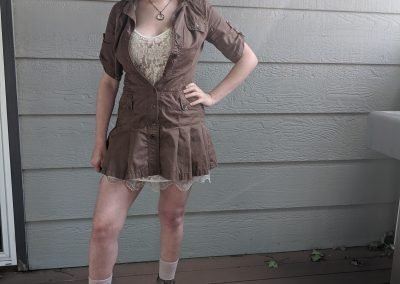 Trailblazing Alissa Ackerman Story Behind The Cloth fashion blog vintage antique adventurous outfit 18