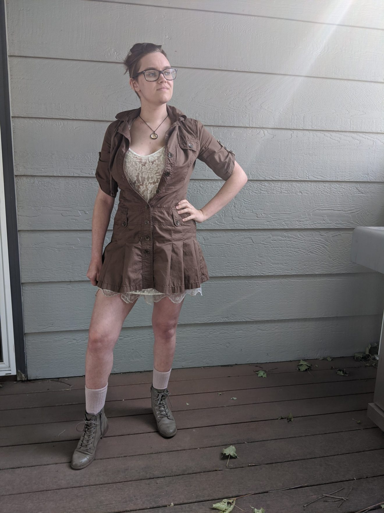 Trailblazing Alissa Ackerman Story Behind The Cloth fashion blog vintage antique adventurous outfit 18 scaled