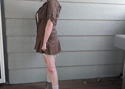 Trailblazing Alissa Ackerman Story Behind The Cloth fashion blog vintage antique adventurous outfit 21