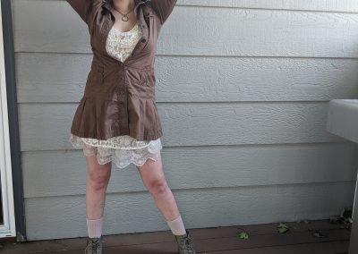 Trailblazing Alissa Ackerman Story Behind The Cloth fashion blog vintage antique adventurous outfit 22