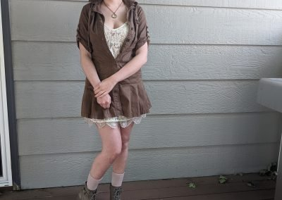 Trailblazing Alissa Ackerman Story Behind The Cloth fashion blog vintage antique adventurous outfit 23