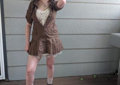 Trailblazing Alissa Ackerman Story Behind The Cloth fashion blog vintage antique adventurous outfit 25