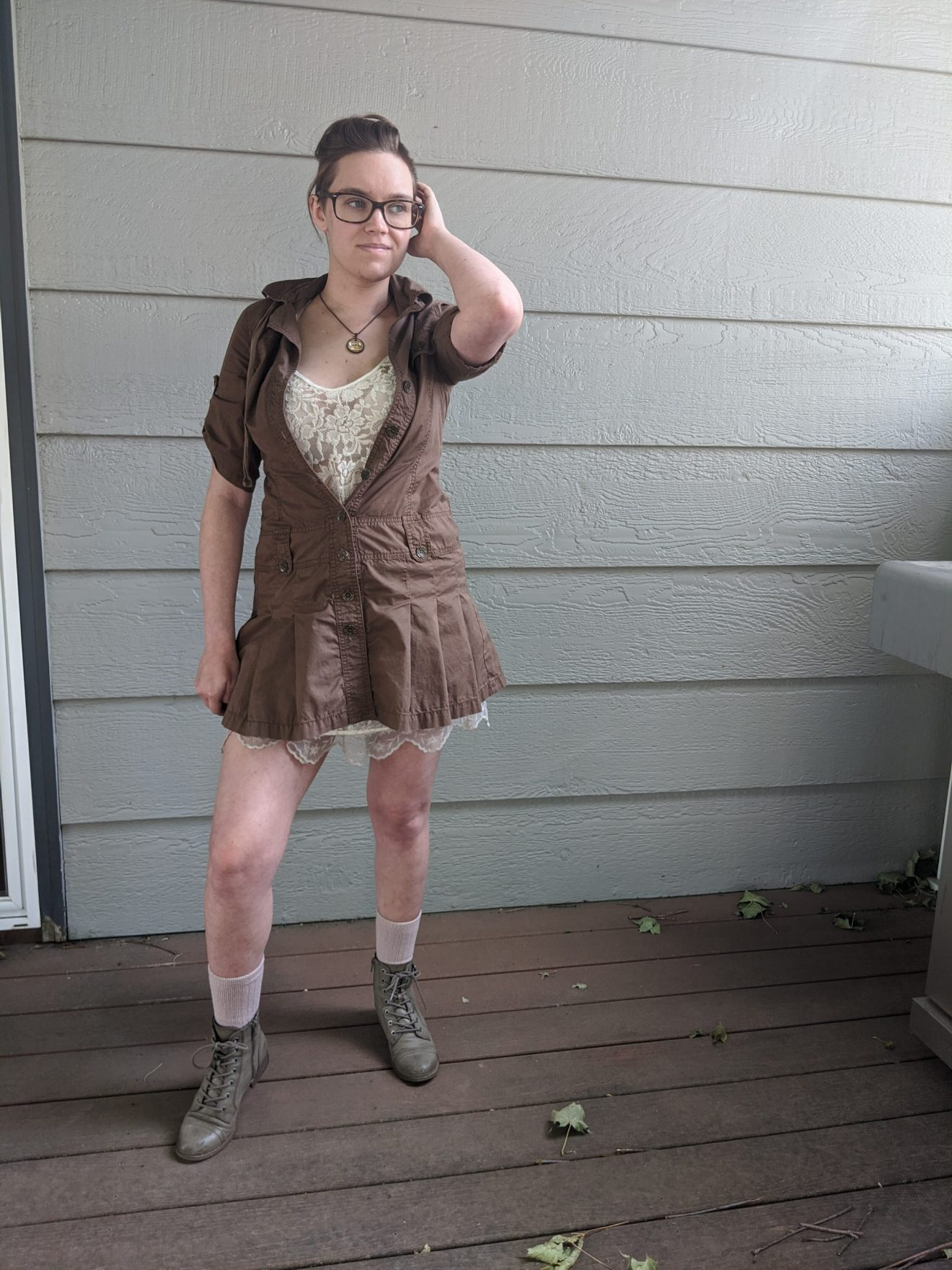 Trailblazing Alissa Ackerman Story Behind The Cloth fashion blog vintage antique adventurous outfit 25 scaled