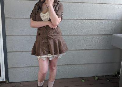 Trailblazing Alissa Ackerman Story Behind The Cloth fashion blog vintage antique adventurous outfit 27