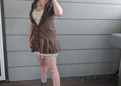 Trailblazing Alissa Ackerman Story Behind The Cloth fashion blog vintage antique adventurous outfit 29