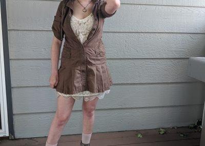 Trailblazing Alissa Ackerman Story Behind The Cloth fashion blog vintage antique adventurous outfit 6