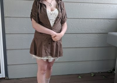 Trailblazing Alissa Ackerman Story Behind The Cloth fashion blog vintage antique adventurous outfit 8