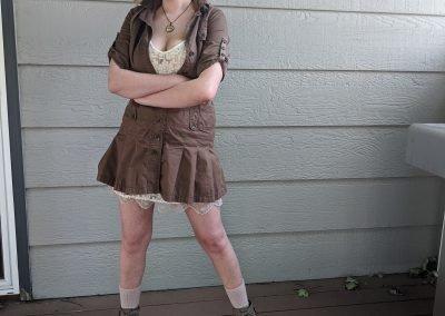 Trailblazing Alissa Ackerman Story Behind The Cloth fashion blog vintage antique adventurous outfit 9