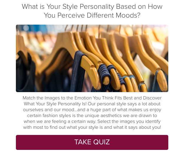Quiz: What is Your Style Personality Based on How You Perceive Different Moods?