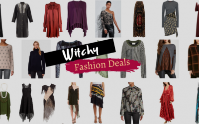 Witchy Fashion Deals: Deep Discounts on Dark Mori Kei and Gothic Bohemian Style Clothing