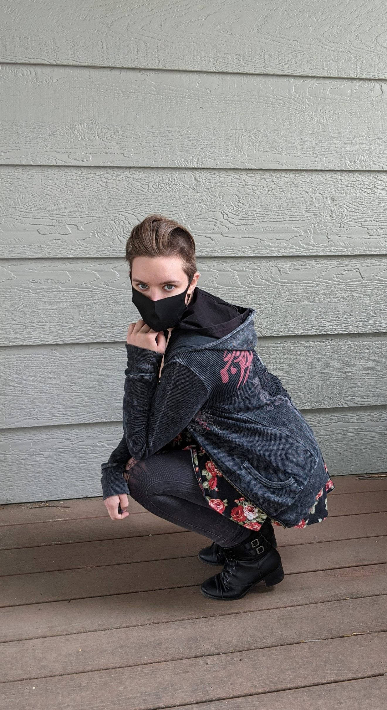 Beautiful Heartache Alissa Ackerman Story Behind The Cloth fashion blog edgy sporty romantic outfit 2 scaled