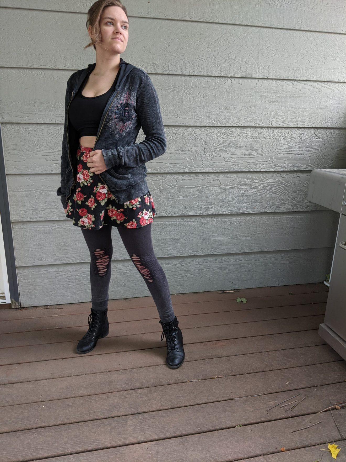 Beautiful Heartache Alissa Ackerman Story Behind The Cloth fashion blog edgy sporty romantic outfit 20 scaled