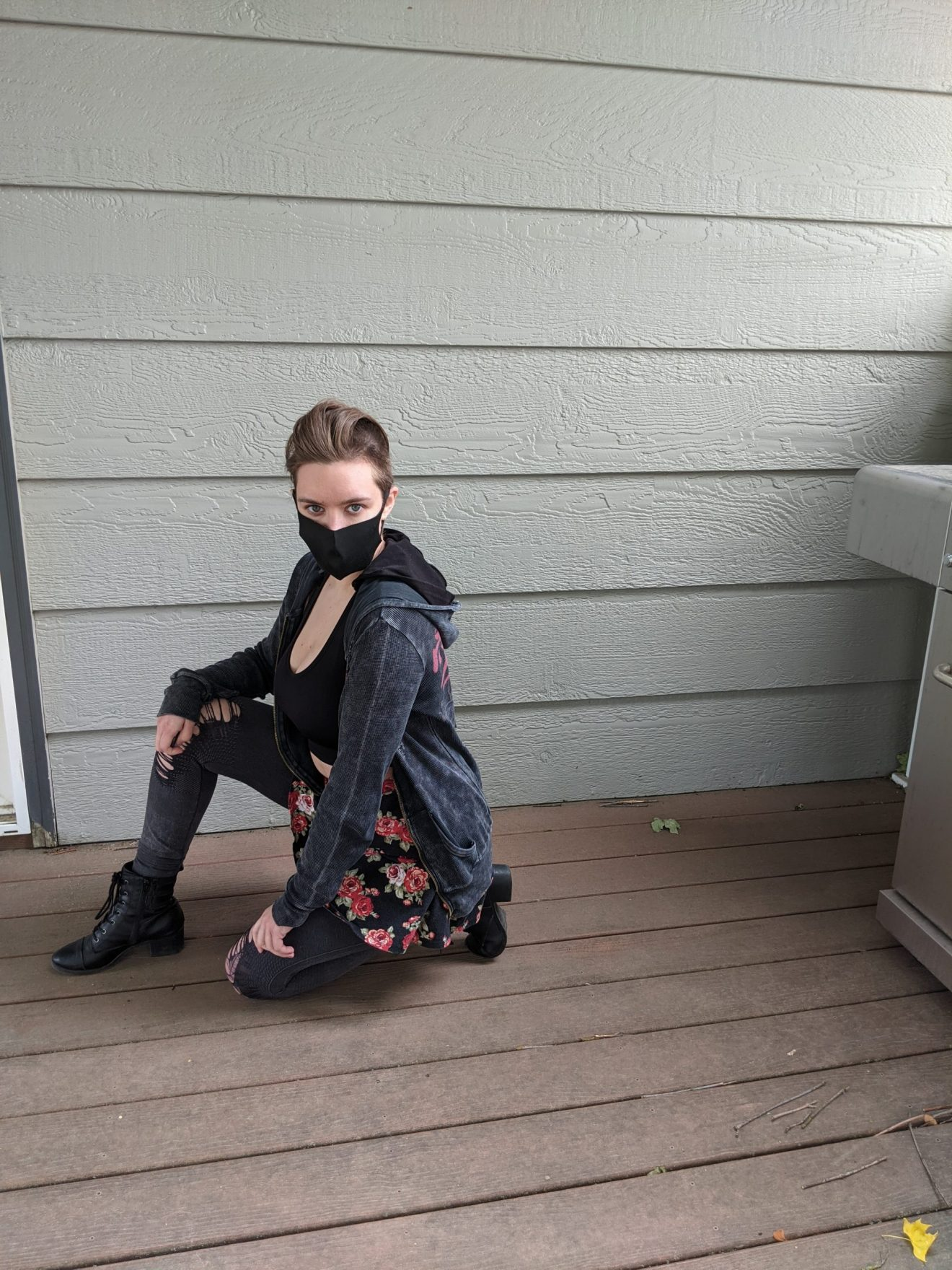 Beautiful Heartache Alissa Ackerman Story Behind The Cloth fashion blog edgy sporty romantic outfit 22 scaled