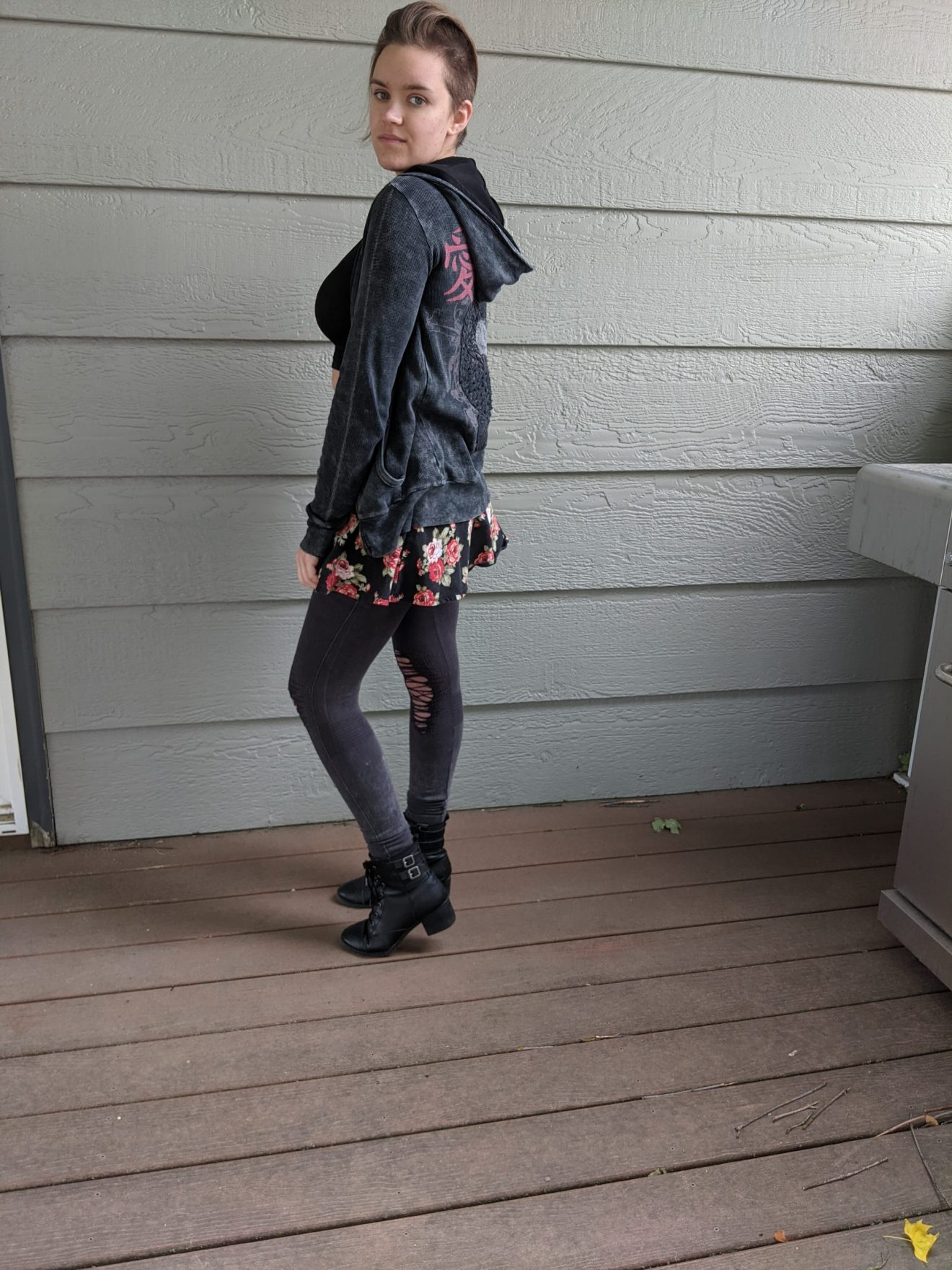 Beautiful Heartache Alissa Ackerman Story Behind The Cloth fashion blog edgy sporty romantic outfit 3 scaled