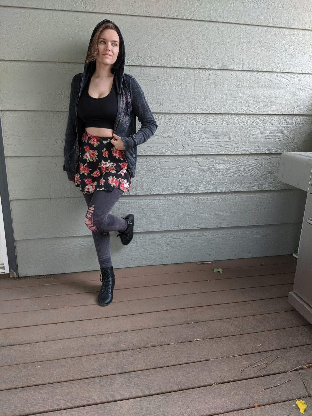 Beautiful Heartache Alissa Ackerman Story Behind The Cloth fashion blog edgy sporty romantic outfit 6 scaled