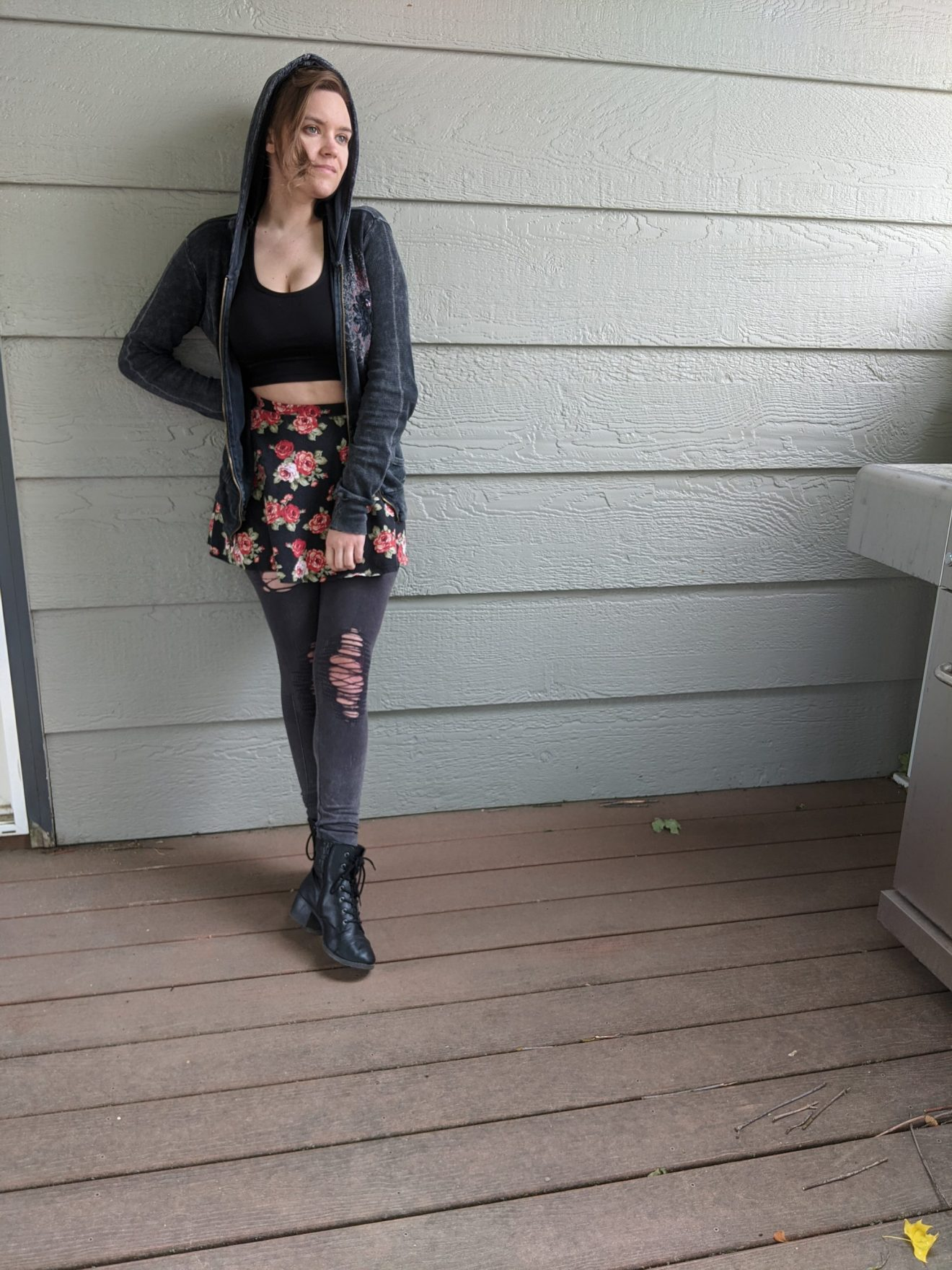 Beautiful Heartache Alissa Ackerman Story Behind The Cloth fashion blog edgy sporty romantic outfit 9 scaled