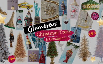 Glamorous Christmas Trees and Ornaments