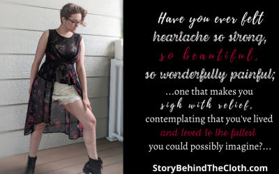 Long Question – An Outfit Representing the Painful Beauty of Heartache
