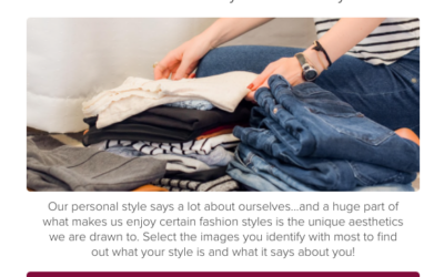 Click on Your Favorite Fashion Pictures to Discover Your Style Personality!